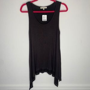 Truly Madly Deeply Gray Tank Top Size S NWT
